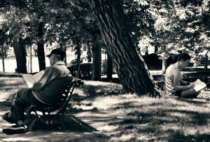reading and writing al retiro